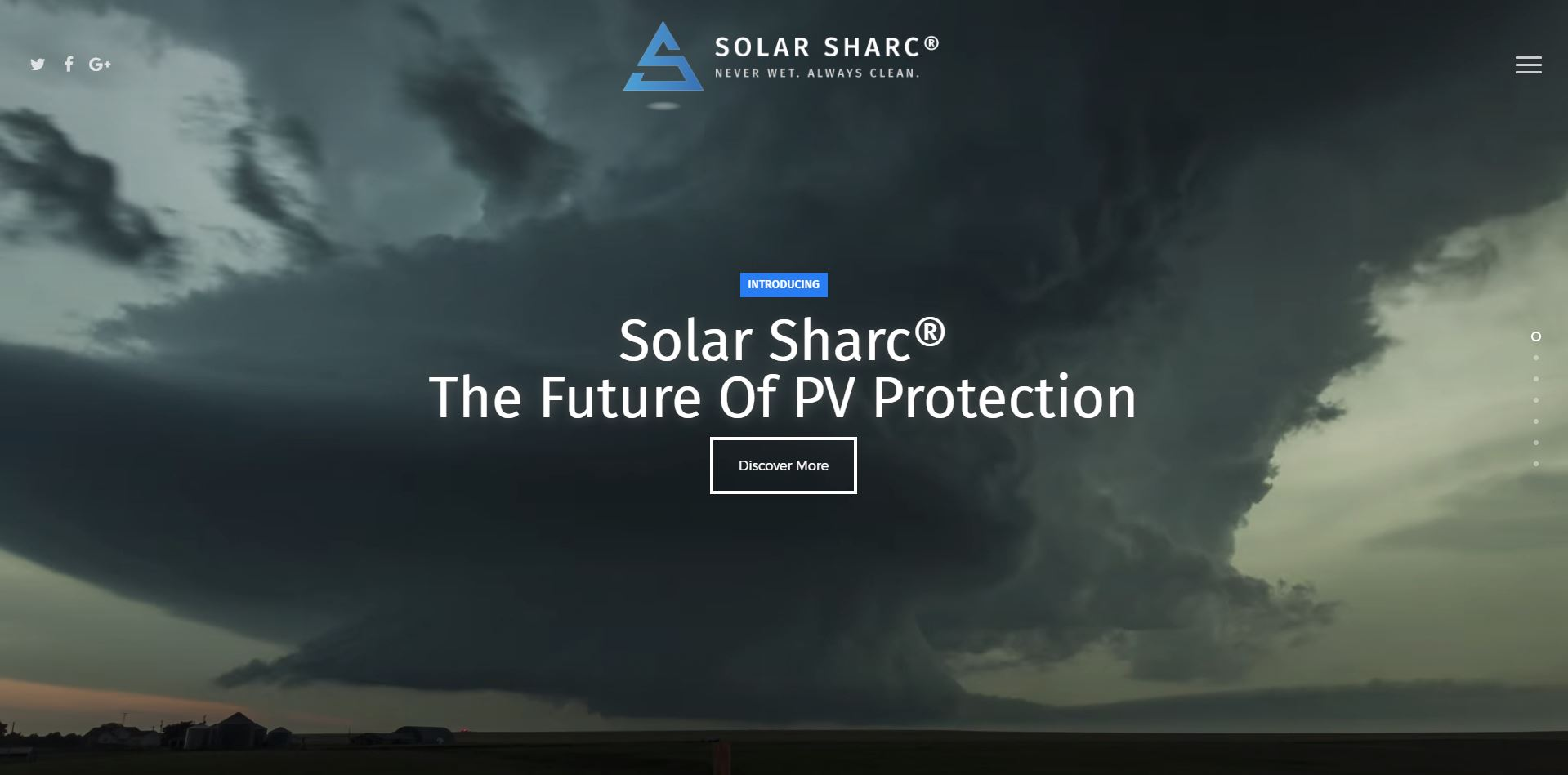 Solar Sharc® Website In Development.