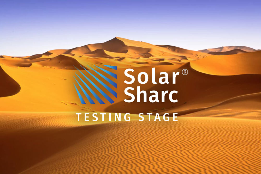 Solar Sharc announce outdoor testing in Saudi