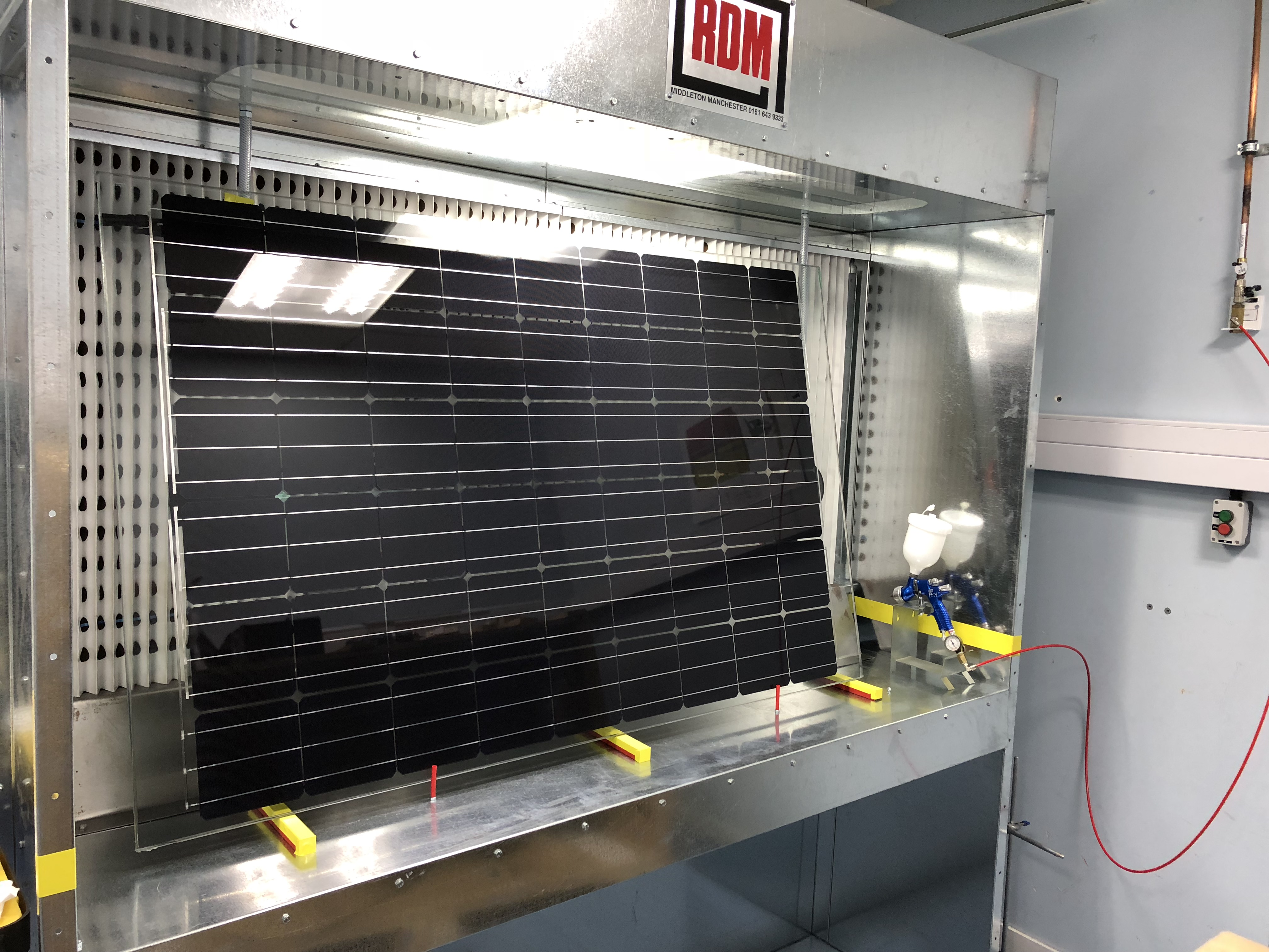 SolarSharc research body installs first full-size testing module